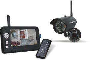 Funk Überwachungskamera Set mit Aufzeichnung