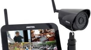 Funkkamera mit Monitor und Bewegungsmelder