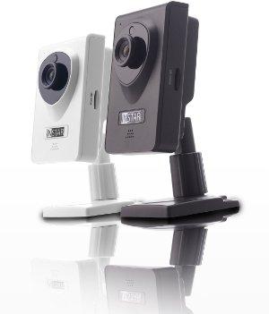 IP wireless Camera InStar hat auch Nachts alles im Blick