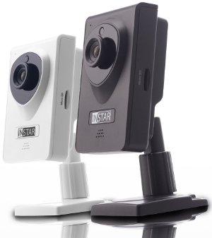 Mini-netzwerkkamera WLAN Übertragung in verschiedenen Farben von InStar