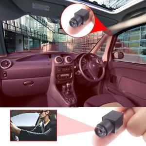 Mit Aufzeichung ausgestattete Überwachungskamera Mini im Auto