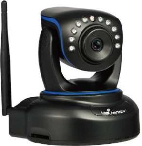 Netzwerkkamera IP Software Spionage Hilfe mit schwenkbarem Kopf