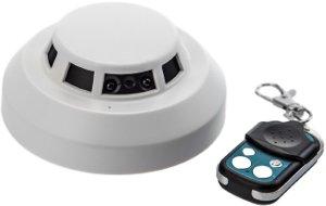 Versteckte Kamera im Rauchmelder Bewegungsmelder optimimert
