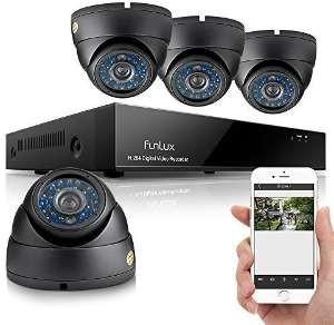 Video Funk Überwachungskamera Set Test mit Aufzeichnung