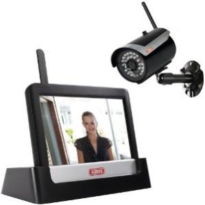 WLAN ABUS Funkkamera Set mit Monitor